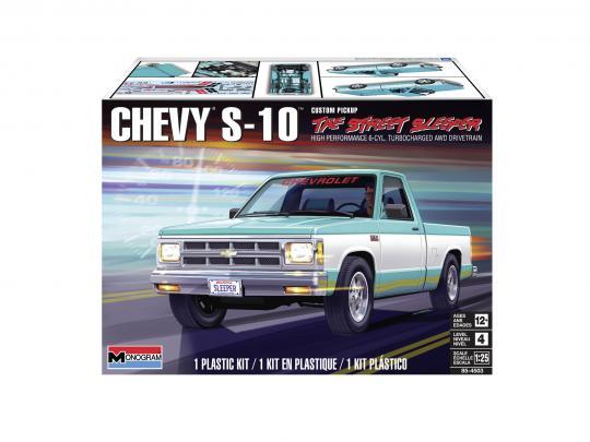 Revell 4503 Chevy S 10 Custom Pickup 1 25 Bunker45
