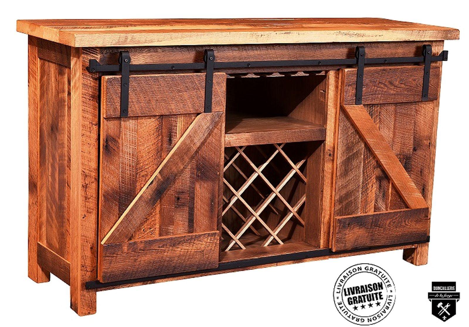 Tete De Lit Porte De Grange quincaillerie style porte grange pour meuble à double porte