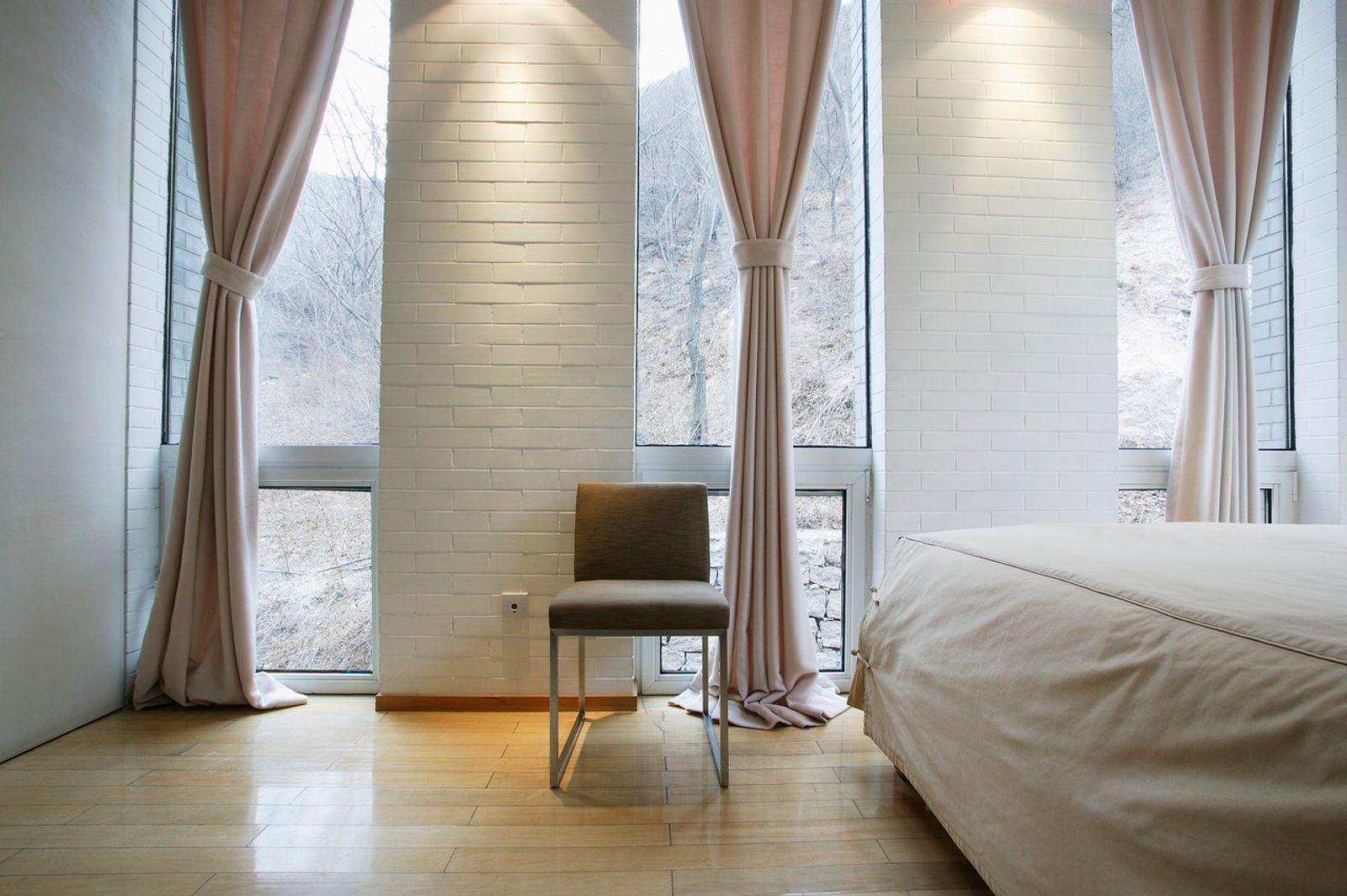 Rideau moderne pour chambre à coucher